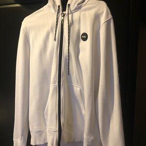 Embroidered sleeve MK hoodie